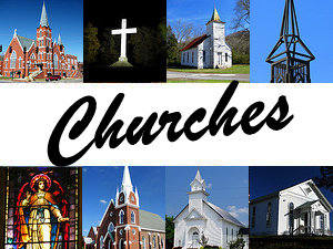 Church buildings and other places of worship