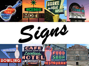 Neon and other older signs